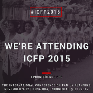 Join AFP At The 2015 International Conference On Family Planning