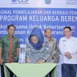 13 Subnational Leaders In Indonesia Sign Joint Commitment In Support Of FP2020 Goal